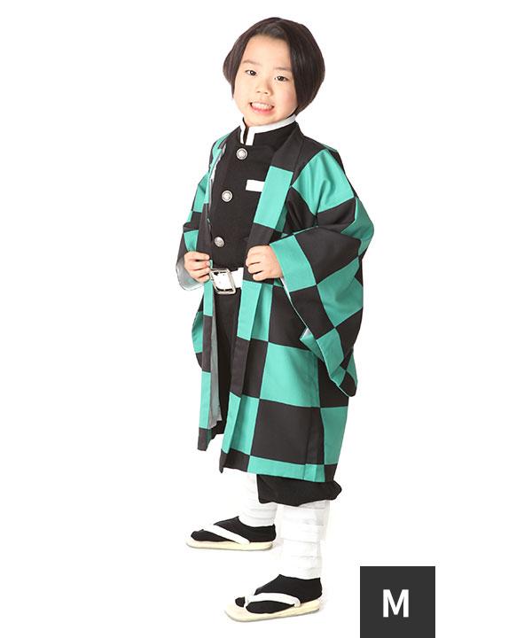 アニバーサリー(7歳-10歳)|市松模様 キッズコスチューム 130cm|A0002|Mサイズ