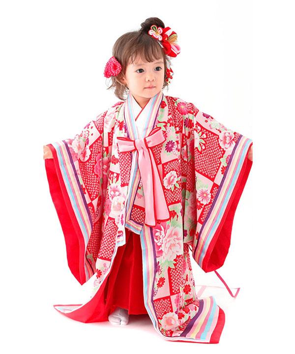 アニバーサリー(1歳-2歳)|【JAPAN STYLE】ベビー着物 十二単|A0011