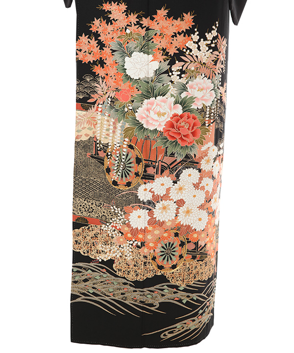 黒留袖レンタル | 花車と四季の花