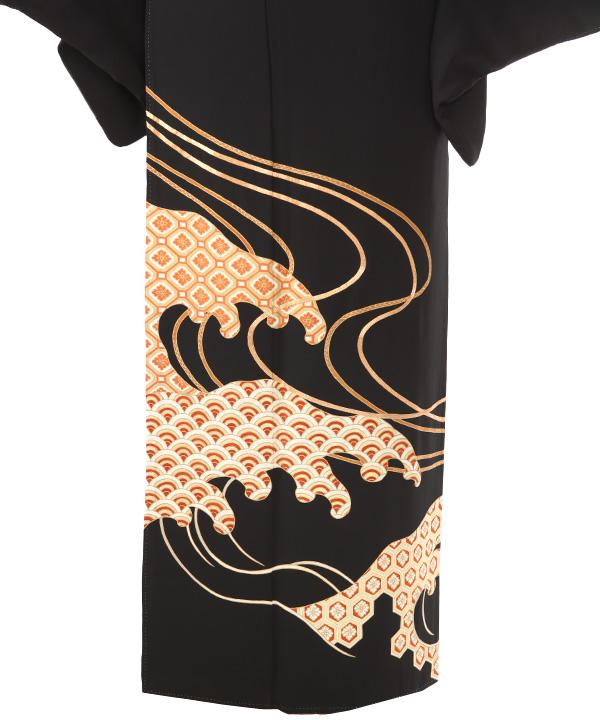 黒留袖レンタル | 波紋