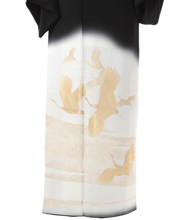 黒留袖レンタル | 群鶴