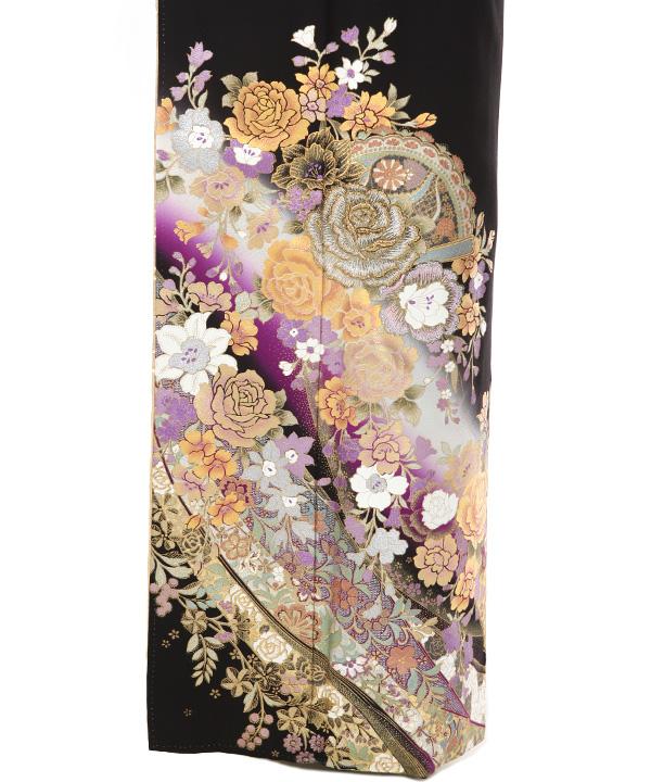黒留袖   桂由美 「絆」   T0052   M