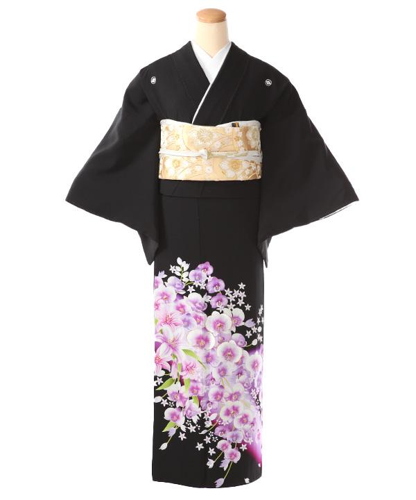 黒留袖レンタル | 蘭と百合