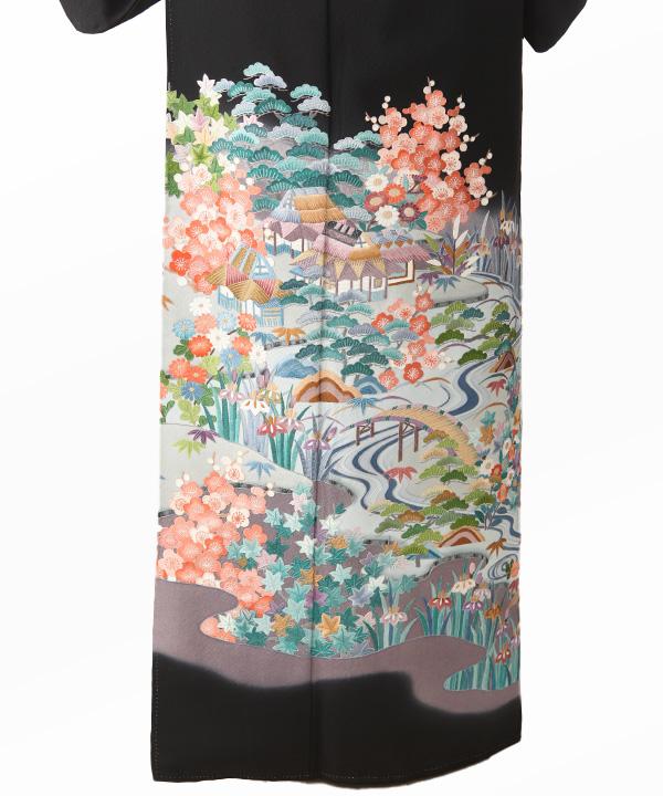 黒留袖レンタル|四季の花と茶屋辻
